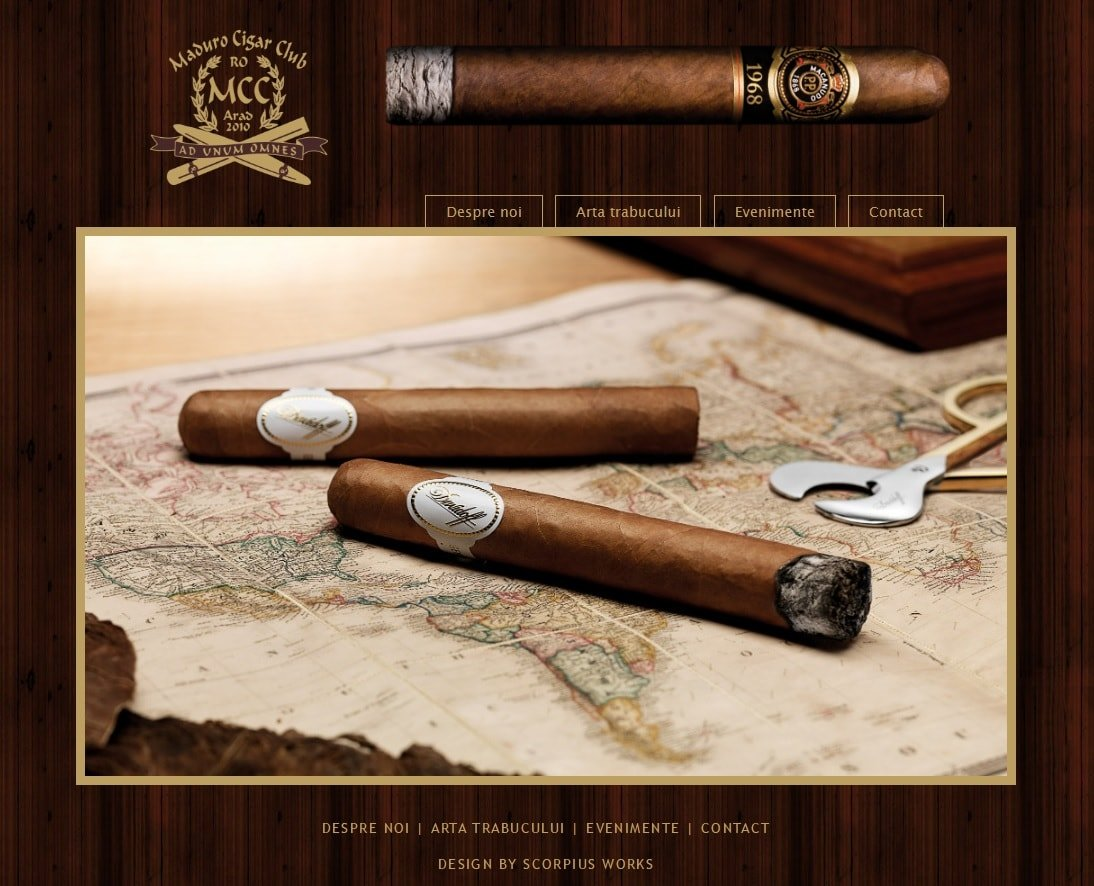 Website - Maduro Cigars Club
